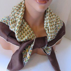 Vintage Echo Scarf French Provincial Pattern